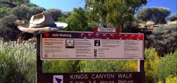 Kings Canyon - daně - studium v Austrálii - Kukabara