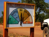 fire danger - práce v Austrálii