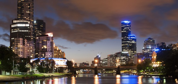 Yarra River - Melbourne - studium v Austrálii - Kukabara