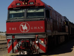 Ghan a jeho znak připomínající afgánskou velbloudí minulost