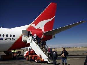 QUANTAS je dnes největší australskou leteckou společností