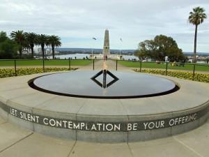 ANZAC memorial najdete v každém větším australském městě, tenhle je v Perthu