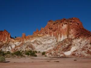 Rudý střed - Duhové údolí