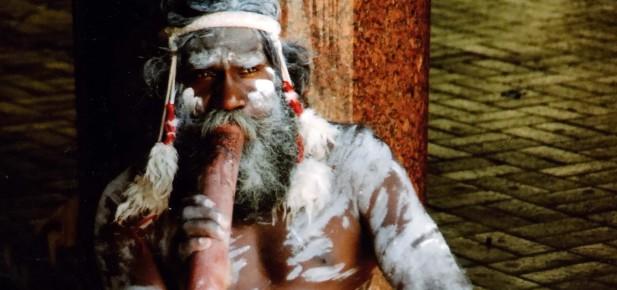 Zkusíte si hru na didgeridoo?