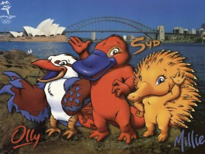 Maskoti LOH v Sydney Olly, Syd a Millie - tady je máte všechny.