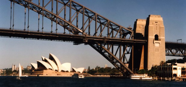 Harbour Bridge - Opera House - studium v Austrálii - Kukabara