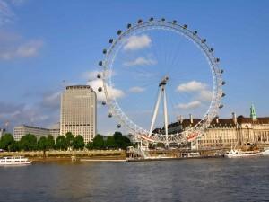 "Londýnské oko - pěkný ""drobeček"", že?"