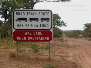 Road train opravdu není žádný drobeček.