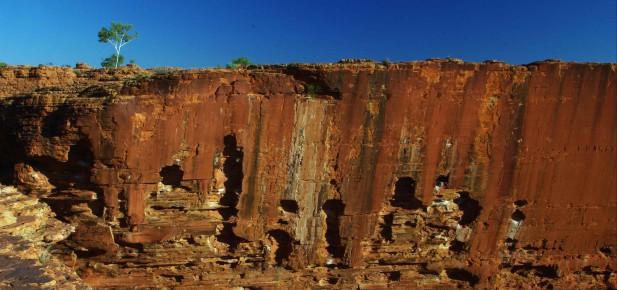 """Severní teritorium a červené """"zdi"""" Královského kaňonu..."""
