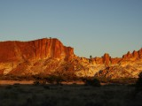 Duhové údolí v zapadajícím slunci...