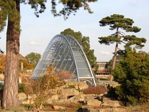 Nové alpinárium má futuristický design.