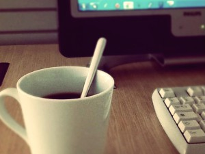 Práce, práce, práce... a káva!