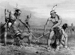 Indiánská historie sportu.