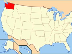 Stát Washington leží až na samém severozápadě USA, hlavním městem je Olympia.