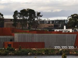 MONA - největší soukromé muzeum Austrálie.