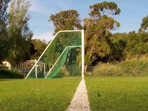 Fotbalová čára je široká maximálně 12 cm.