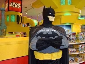 V New Yorku můžete narazit na Batmana... minimálně na toho z lega.