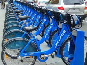 Melbourne jízdní kola