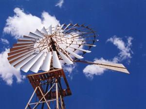 Austrálie windmill