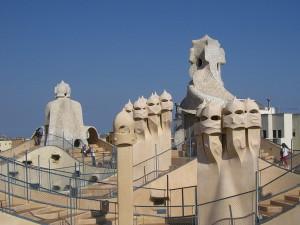 Barcelona je plná Gaudího děl.