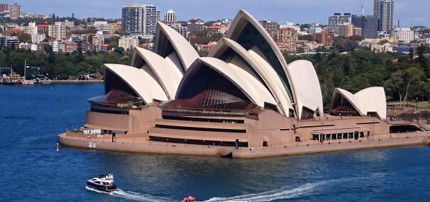 Operu z nadhledu si prohlédněte z Harbour Bridge