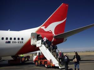 Qantas - cestovani - Australie - Kukabara