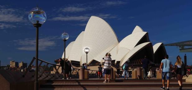 Opera House v Sydney